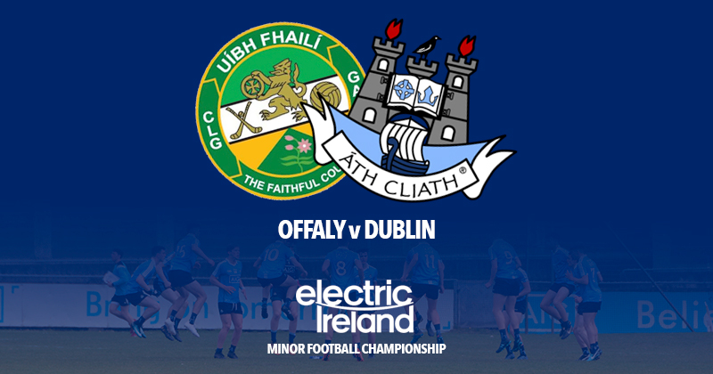 Minor Footballers in Action Against Offaly In Leinster Championship