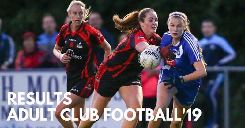 Wednesday Nights Dublin Ladies Football Championship Results